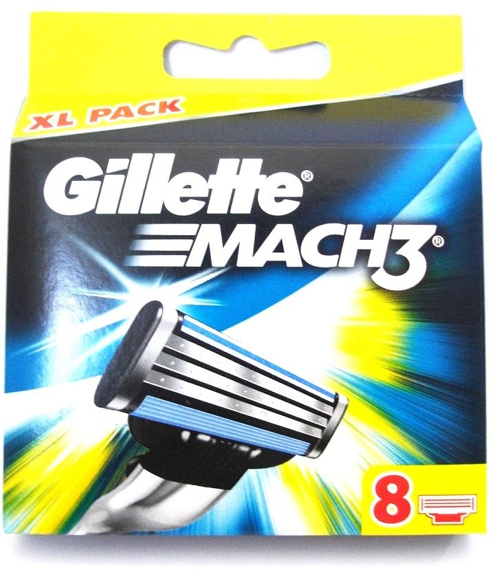 Dagaanbieding - Gillette Mach3 Scheermesjes 8 Stuks *nieuw* XL Pack dagelijkse aanbiedingen