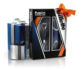 Dagaanbieding - Gillette Cadeauset Fusion Proglide + Travelbox dagelijkse aanbiedingen