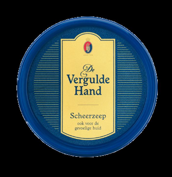 Vergulde Hand Scheerzeeptablet 75gr