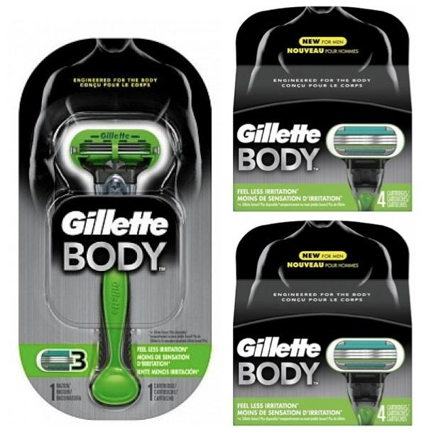 Dagaanbieding - Gillette Combi Body Apparaat + 8 mesjes dagelijkse aanbiedingen