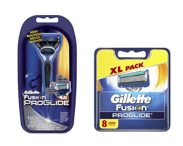 Dagaanbieding - Gillette Combi Fusion ProGlide Systeem incl 1 + 8 mesjes dagelijkse aanbiedingen