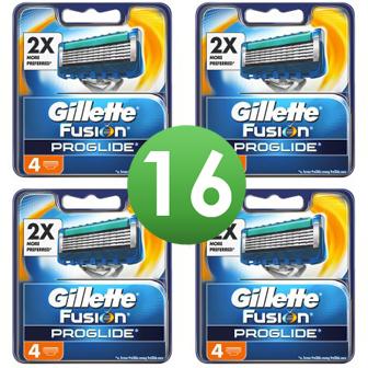 Dagaanbieding - Gillette Combi Scheermesjes Fusion ProGlide 16 mesjes dagelijkse aanbiedingen