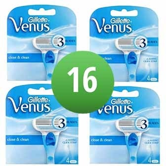 Dagaanbieding - Gillette Combi Scheermesjes Venus 16 mesjes dagelijkse aanbiedingen