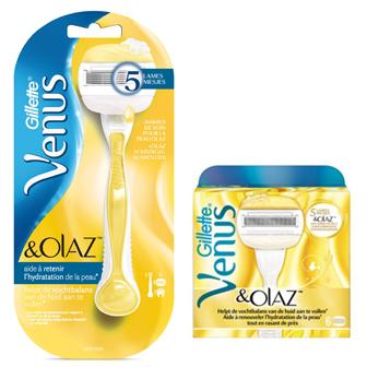 Dagaanbieding - Gillette Combi Venus en Olaz Systeem + 6 mesjes dagelijkse aanbiedingen