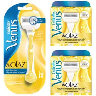Dagaanbieding - Gillette Combi Venus en Olaz Systeem + 12 mesjes dagelijkse aanbiedingen