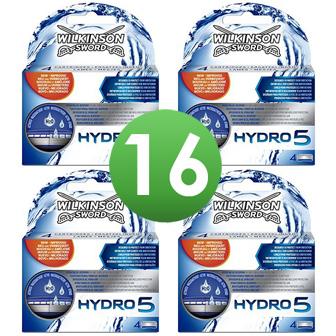 Dagaanbieding - Wilkinson Sword Combi Scheermesjes Hydro 5 16 mesjes dagelijkse aanbiedingen