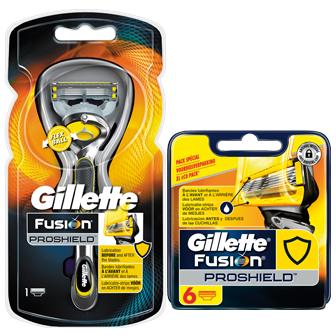 Dagaanbieding - Gillette Fusion ProShield Combi systeem incl 7 mesjes dagelijkse aanbiedingen