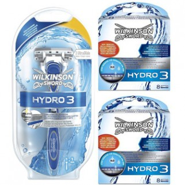 Wilkinson Sword Combi Hydro 3 Systeem + 16 mesjes