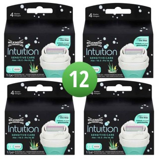 Wilkinson Sword Combi Scheermesjes Intuition Sensitive 12 mesjes