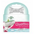 Wilkinson Quattro For Women Mesjes Sensitive 3 stuks