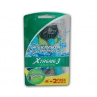 Wilkinson Xtreme3 Comfort Plus Sensitive 4+2 stuks