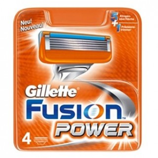 Gillette Fusion Power Mesjes 4 Pack
