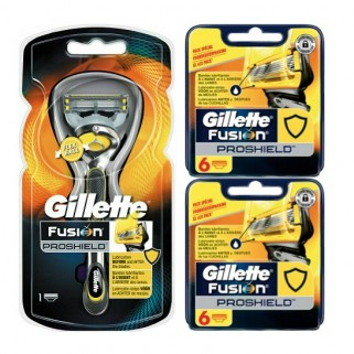 Gillette Fusion ProShield Combi Systeem incl 13 mesjes