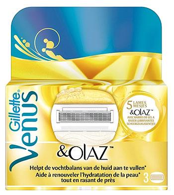 Gillette Women Venus and Olaz Scheermesjes 3stuks