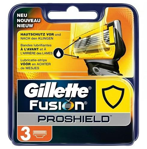 Dagaanbieding - Gillette Fusion ProShield scheermesjes 3 stuks dagelijkse aanbiedingen