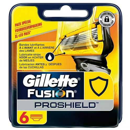 Dagaanbieding - Gillette Fusion ProShield scheermesjes 6 stuks dagelijkse aanbiedingen