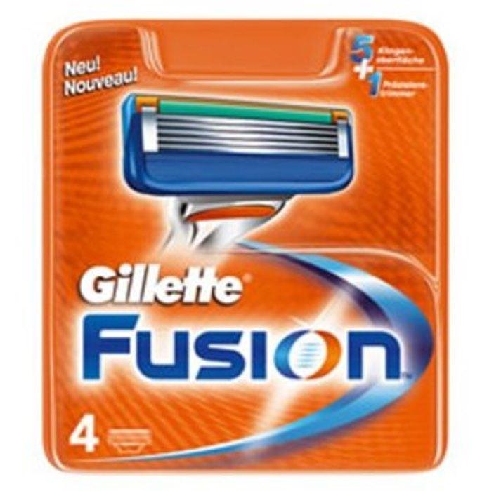 Dagaanbieding - Gillette Fusion Scheermesjes 4 stuks dagelijkse aanbiedingen