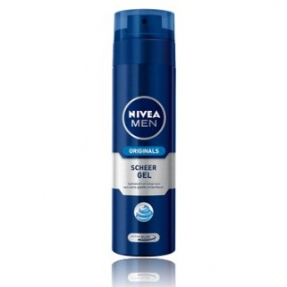 Nivea For Men Scheergel 200 ml Vochtinbrengend