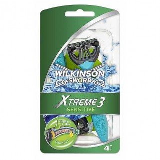 Wilkinson Xtreme3 Comfort+ Sensitive 4 stuks