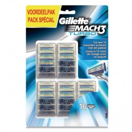 Gillette Mach3 Turbo 16 mesjes