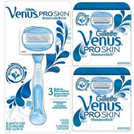 Gillette Combi Venus ProSkin MoistureRich Systeem + 8 mesjes