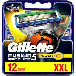 Gillette Fusion5 ProGlide Power 12 Mesjes