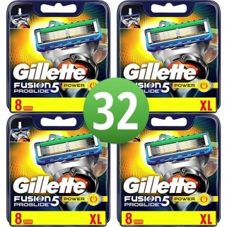 Gillette Fusion5 ProGlide Power 32 Mesjes