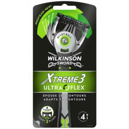 Wilkinson Xtreme3 Ultra Flex 4 Wegwerp Scheermesjes