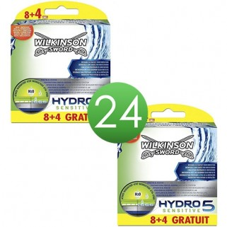 Wilkinson Hydro 5 Sensitive mesjes 16 + 8 stuks