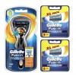 Gillette Combi Scheerapparaat Fusion Proglide Flexball + 2x8 scheermesjes