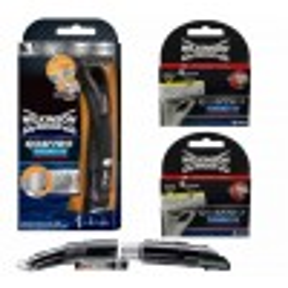 Wilkinson Sword Combi Quattro Titanium Precision Systeem + 2x4 mesjes