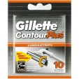 Gillette Contour Plus Scheermesjes 10 stuks