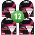 Wilkinson Sword Combi Quattro For Women 12 Mesjes Pink