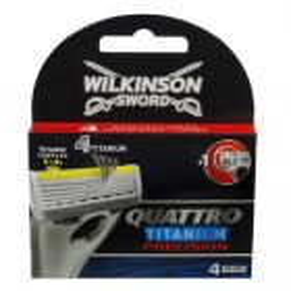 Wilkinson Quattro Titanium Precision Mes 4 stuks