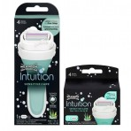 Wilkinson Combi Intuition Sensitive Care Houder incl 4 mesjes