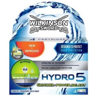 Wilkinson Hydro5  Power Select & Groomer 4 pack
