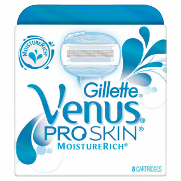Gillette Venus Proskin Moisture Scheermesjes 8 stuks