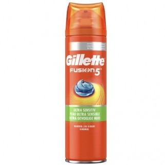 Gillette Scheergel 75ml Fusion5 Ultra Sensitive Reisformaat