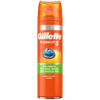 Gillette Fusion5 Ultra Sensitive Scheergel 200ml