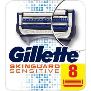 Gillette SkinGuard Sensitive Scheermesjes 8 Stuks