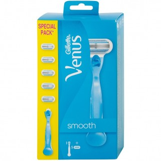 Gillette Venus Smooth Scheersysteem incl 5 Mesjes
