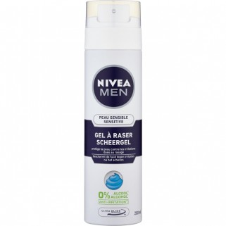 Nivea For Men Scheergel 200 ml Sensitive
