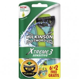 Wilkinson Xtreme3 Comfort+ Sensitve 8 stuks