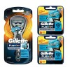 Gillette Combi Fusion ProShield CHILL Scheersysteem incl 13 mesjes