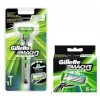 Gillette Mach3 Sensitive Combi Houder incl 9 mesjes