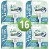 Gillette Venus Extra Smooth Sensitive Scheermesjes 16 Stuks