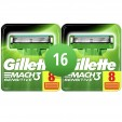 Gillette Combi Mach3 Sensitive 16 Scheermesjes