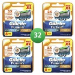 Gillette Combi Scheermesjes Fusion ProGlide Power 32 mesjes