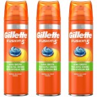 Gillette Combi Fusion5 Ultra Sensitive Scheergel 3x200ml