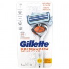 Gillette SkinGuard Sensitive Power Flexball Scheersysteem incl 1 Mesje
